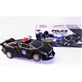 Машина Трансформер полицейская
