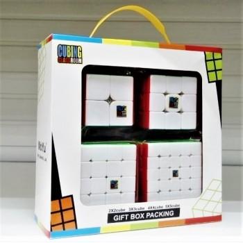 Головоломка кубик  набор 4в1 MoYu