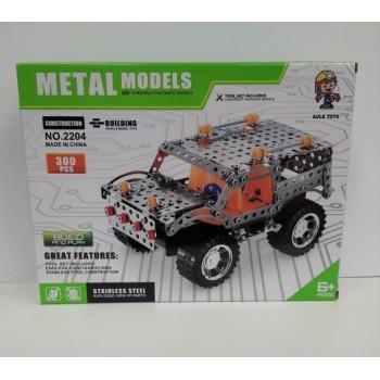 Конструктор металлический внедорожник 300 дет. Metal Models