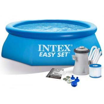 Бассейн с фильтром-насосом 1250л/ч, 244x61 см Intex