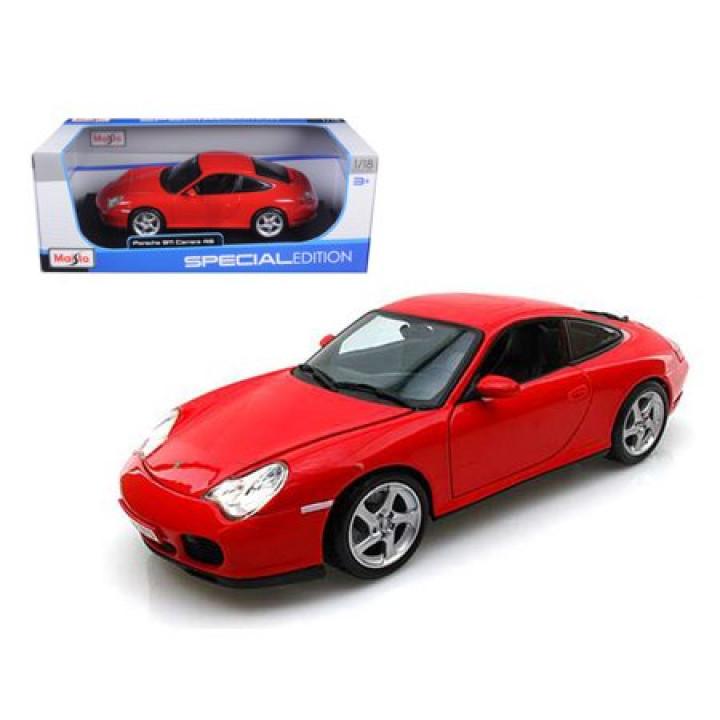 Машина Maisto Special Edition Diecast 1/18, Porsche 911 (996) Carrera 4s металл