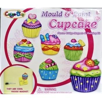 Набор магнитов на холодильник Cupcake