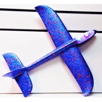 Самолет светящийся