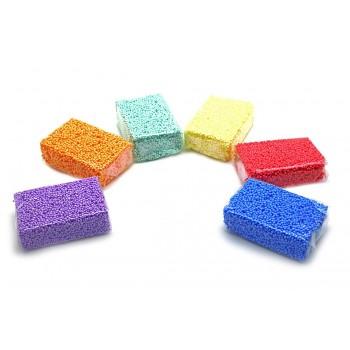 Пластилин шарики Foam Putty уп. 6 цветов