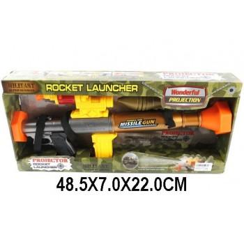 Автомат ROCKET LAUNCHER на бат.(свет,звук)в коробке
