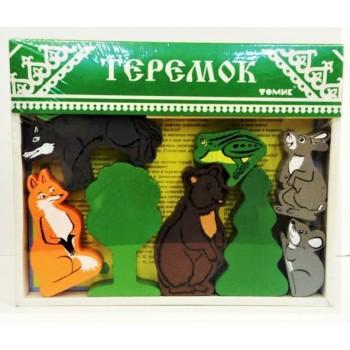 Деревянные игрушки Томик-Теремок