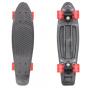 Скейтборд графит,колеса с подсветкой S00171