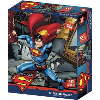 Пазл 3Д 'Сила Супермена' 500 элементов