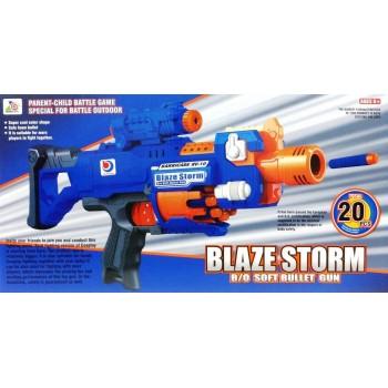 Бластер синий RV-10 20 пуль