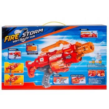 Бластер красный FIRE STORM 20 пуль