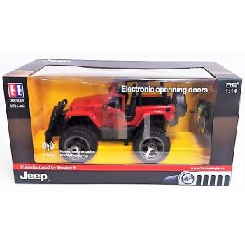 Внедорожник Jeep Rubicon на РУ в коробке (49*24*25см)