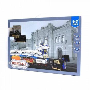 """Железная дорога """"Вокзал"""" (свет, звук, движение) S+S Toys 200266928"""