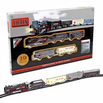 """Железная дорога """"Express Train"""" 19 элементов (свет, движение) LCF 19026C"""