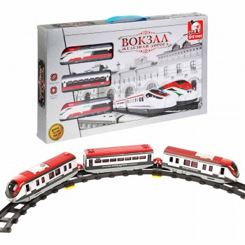 """Железная дорога со скоростным поездом """"Вокзал"""" (свет, движение) S+S Toys 200034969"""