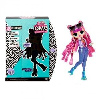 Кукла Лол Surprise OMG 3 серия Roller Chick ориг.