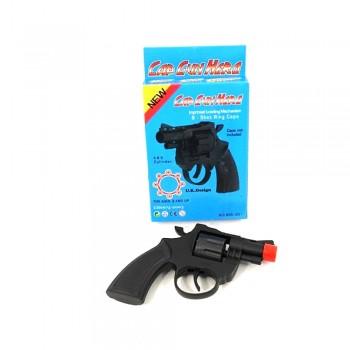 Револьвер 835-251 стреляющий пистонами (восьмизарядный) пластик