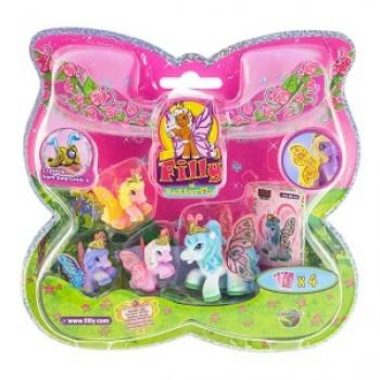 Набор игровой Бабочки с блестками Волшебная семья Filly (Dracco) M770041-3850