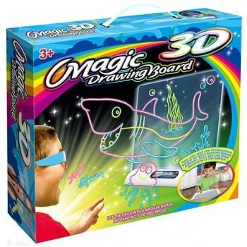Доска для рисования Omagic 3D акула