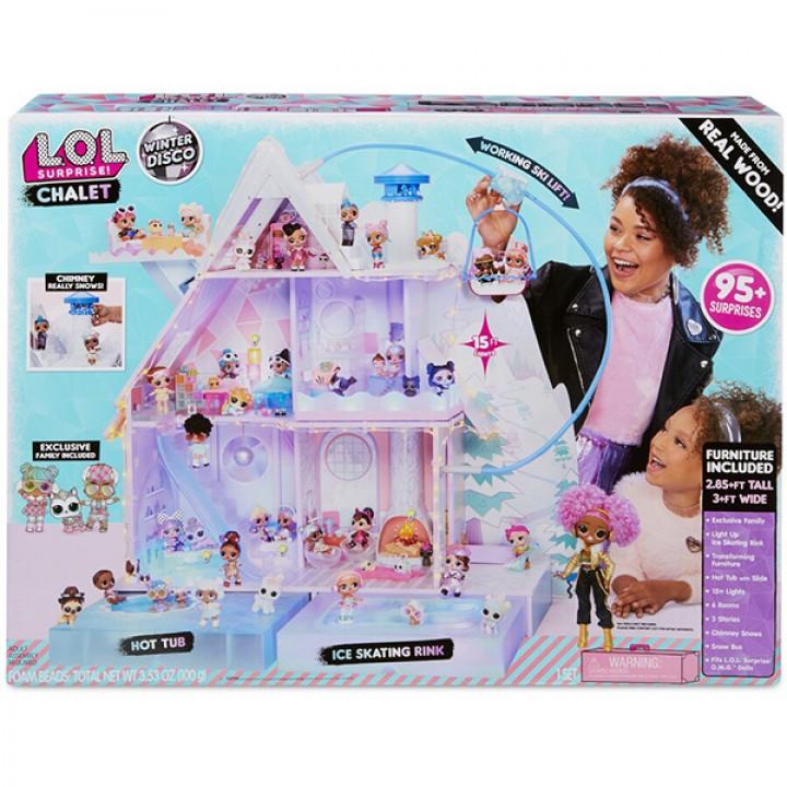 Дом для куклы L.O.L. Surprise! Зимнее Шале 562207