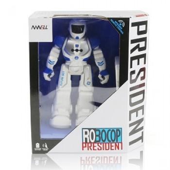 Робот Robocop President FUTURE BOT на Р/У (свет,звук)