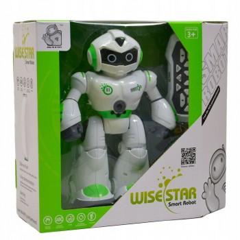 Робот Р/У WISE STAR на бат (свет,звук)