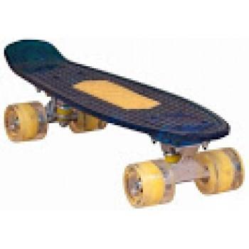 Скейтборд KMS SB-109 22'', подсветка, USB