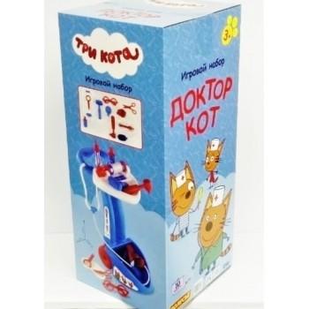 Игровой набор Доктор Кот в коробке