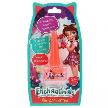 """Косметика для девочек """"Энчантималс"""" лак для ногтей, глиттер, манго, Милая Леди"""