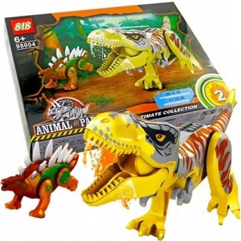 Конструктор динозавры Тираннозавр и Кентрозавр Animal Park