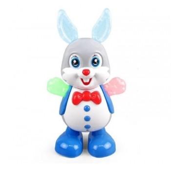 Музыкальный танцующий кролик с подсветкой