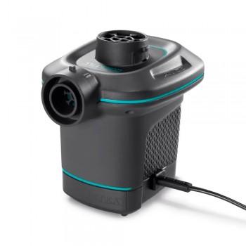 Насос электрический для бассейна с 3 насадками, черный, 220V Intex 66640