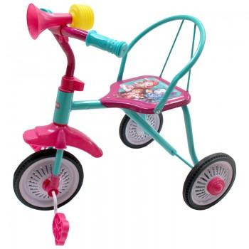 """Велосипед 3кол. """"ЭНЧАНТИМАЛС"""" колеса 9 и 8 дюймов мет.+ резина, в ассорт. в кор.6шт"""