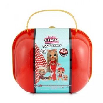 Игровой набор с куклой L.O.L. Surprise Чемодан OMG Swag Family LOL MGA ориг.