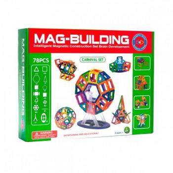 Магнитный конструктор Mag-building 78 дет.