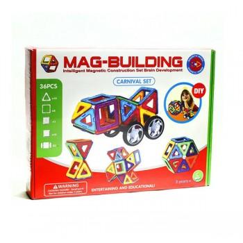Магнитный конструктор Mag-building 36 дет.