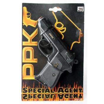 Пистолет с глушителем PPK