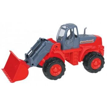 Трактор-погрузчик (в сеточке)