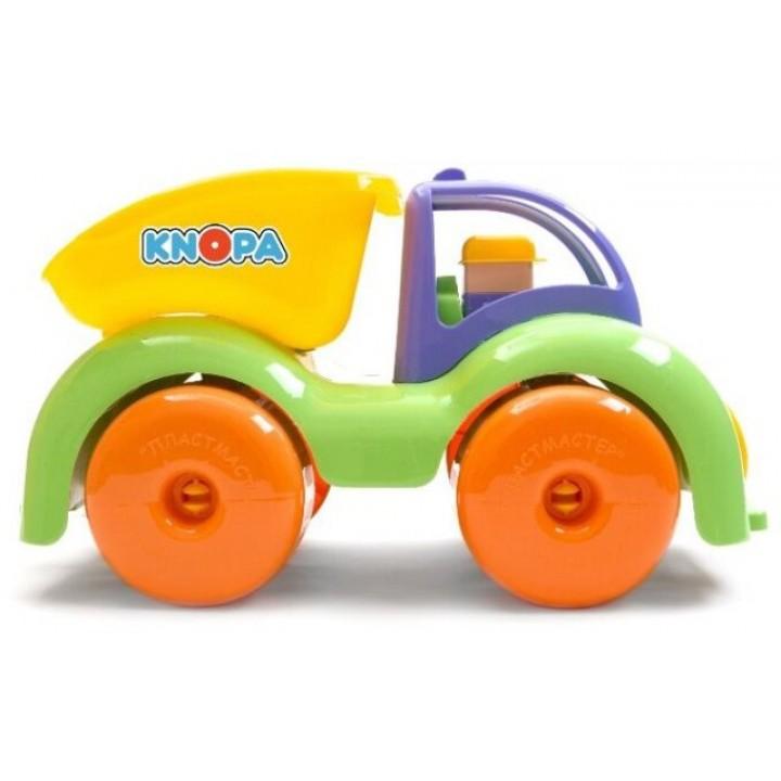"""Машинка самосвал """"Крепыш"""" 33 см, Кнопа"""