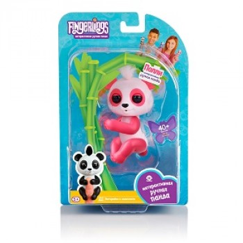 Игрушка интерактивная Панда Полли Fingerlings 3561