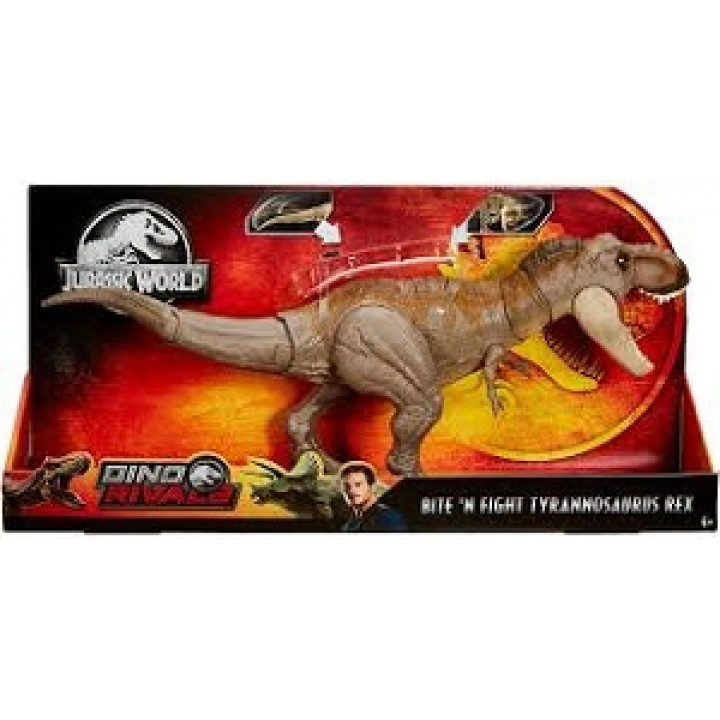 "Игрушка динозавр Jurassic World ""Ти-Рекс"" - Двойной удар"