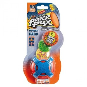 Прыгающие фишки-флипы Power Pux с лончером 83105