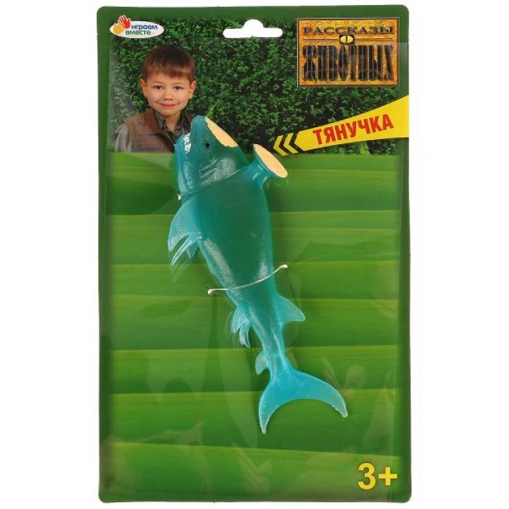 Игрушка тянучка (гель) Стетакантакула 17см Играем вместе