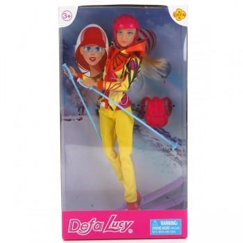 Кукла лыжница Defa Lucy