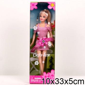 Кукла с аксессуарами Defa Lucy в коробке