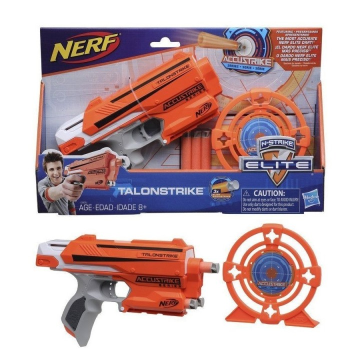 Бластер Nerf Talonstrike со снарядами и мишенью
