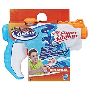 Бластер вод. Nerf Super Sdaker Пиранья