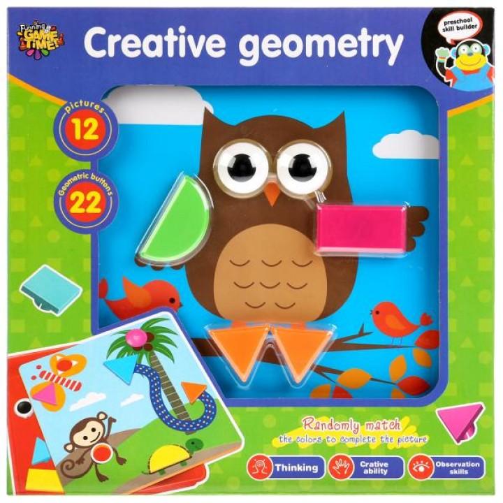 Игра логическая Creative geometry