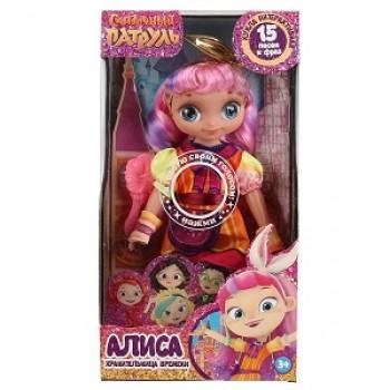Кукла озвуч ТМ Карапуз Сказочный патруль Алиса 32см, кэжуал,