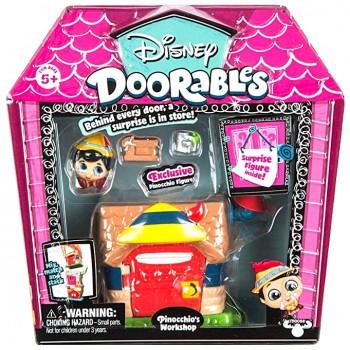 Игровой набор Doorables Дисней Мастерская Пиноккио 69413