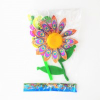 Ветрячок детский цветок блестящий большой